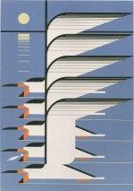 Skimmerscape<br>Charley Harper Serigraph
