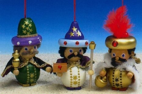 Three Wiseman - Boxed Set<br> Steinbach Ornaments