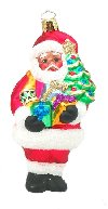 Black Santa w/Gifts