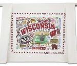 U of Wisconsin Badgers<br>Tea Towel by catstudio