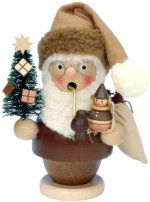 Santa holding Tree - Small<br> Nat Ulbricht Smoker