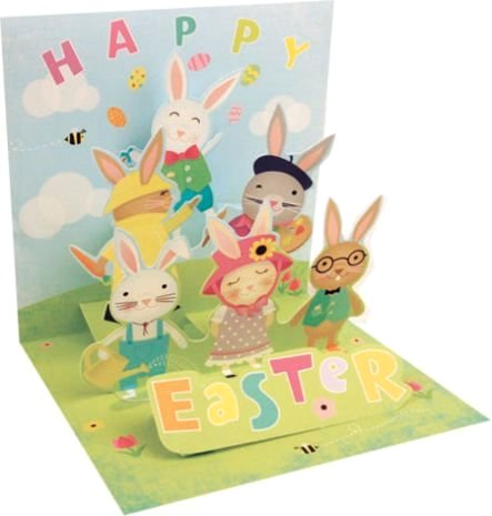 Treasures Popup Greeting Cards by Up With Paper – Easter Pop Up Cards