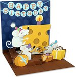 Big Cheese - Birthday<br> Treasures Pop-Up Card