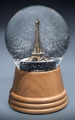 Eiffel Tower - Paris<br>Vienna Snow Globe
