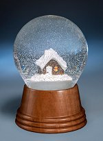 Citizen Kane Mountain Cottage<br>Vienna Snow Globe