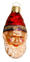Gnome - Small Santa Head