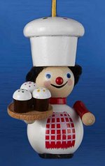 Cupcake Maker<br> 2014 Steinbach Ornament