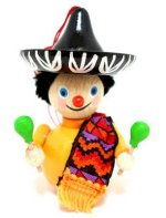 Mexican Boy<br> Steinbach Ornament