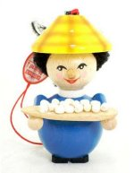 Chinese Boy<br> Steinbach Ornament