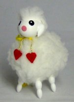 Sheep<br> Steinbach Ornament