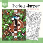 2018 Charley Harper<br>Coloring Wall Calendar