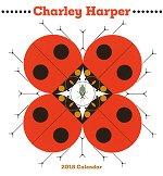 2018 Charley Harper<br>Art Wall Calendar