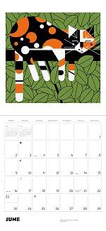 2019 Charley Harper<br>Art Wall Calendar
