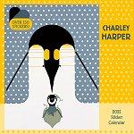 2021 Charley Harper<br>Sticker Wall Calendar Kids
