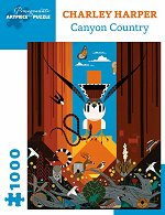 Canyon Country<br>Charley Harper Puzzle