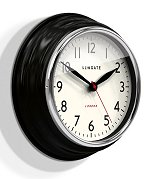 Cookhouse Wall Clock in Black<br>design by Newgate