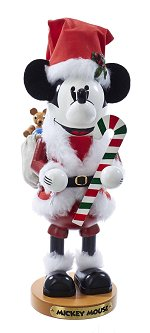 Mickey Mouse Santa<br>Disney Steinbach Nutcracker