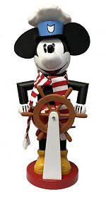 Steamboat Willie<br>Mickey Mouse Nutcracker