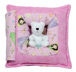 Fairy Girls - Pink<br>11 Inch Peek-A-Boo Pillow