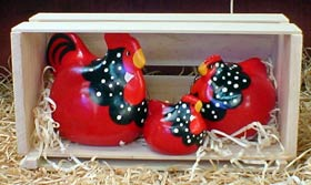 Red Ancona<br> New Zealand Happy Hens