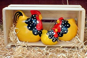 Yellow Ancona<br> New Zealand Happy Hens