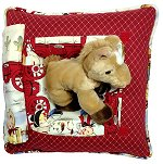 Lil' Cowboys<br>Peek-A-Boo Pillow - Large
