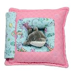 Mermaids & Dolphin<br>11 Inch Peek-A-Boo Pillow