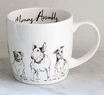 Morning Assembly - Dogs<br>Anna Wright - York Mug