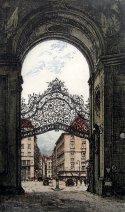 Palace Gate - Vienna<br>by Josef Eidenberger
