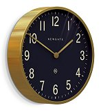 Mr Edwards Clock Radial Brass<br>design by Newgate