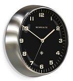Chrysler Clock Brushed Steel<br>design by Newgate