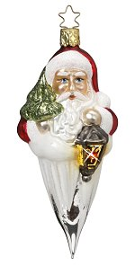 Christmas Guide 2016 is the fourth ornament in the current series of dated annual ornaments from Inge-glas® of Germany