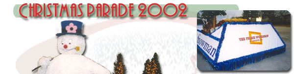 Frosty the Snowman matures in 2002 parades with more animation!