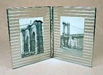 Bedford Downing Glass photo frames – shown in Reed as double 7x9
