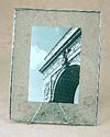 Bedford Downing Glass photo frames – shown in Etched as single 7x9