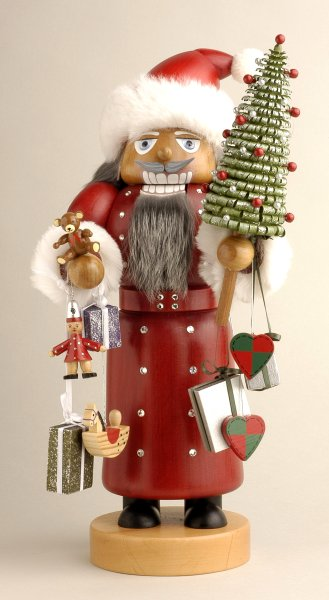 Santa w/ Swarovski Crystals<br>KWO Nutcracker