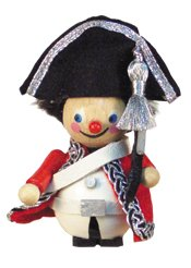 Redcoat Soldier<br> Steinbach Ornament