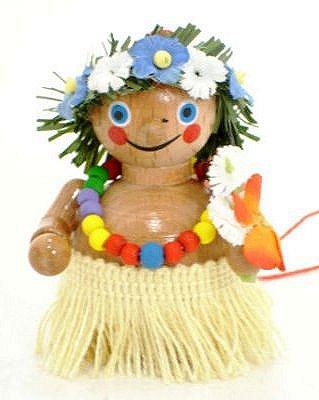 Hawaiian Girl<br>Steinbach Ornament