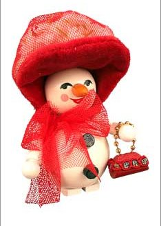Red Hat Society<br> Steinbach Ornament