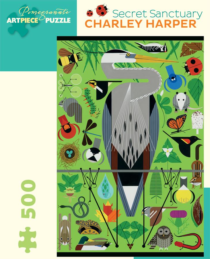 Secret Santuary - 500pc<br>Harper Jigsaw Puzzle