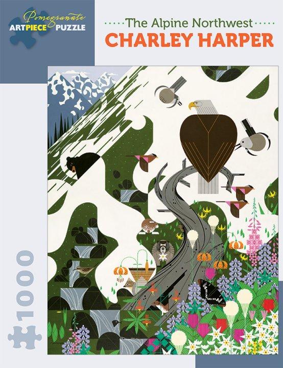 The Alpine Northwest<br>Charley Harper Puzzle
