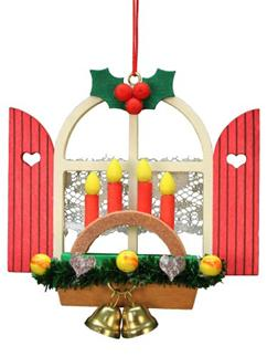 Advent Window Arch Ornament from Christian Ulbricht