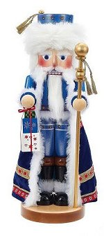 "The Arctic Santa by Steinbach is the twenty-third Santa nutcracker in the ""Christmas Legends Series"