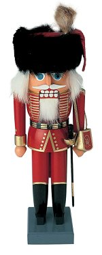 This Shill's Hussar is just one of several traditional nutcracker designs by the respected firm of Kunstgewerbe-Werkstätten Olbernhau GmbH, better known simply as KWO
